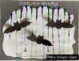 Batty for Gravity! - A painting with gravity Halloween activity
