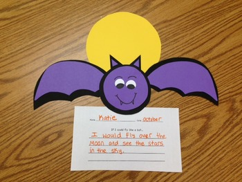 Batty for Halloween! A Halloween craft