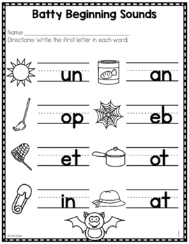 Halloween Literacy Printables