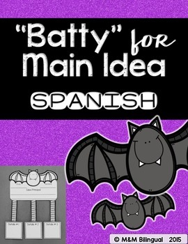 Batty for Main Idea {Spanish}