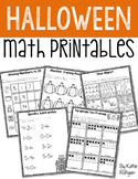 Halloween Math Printables