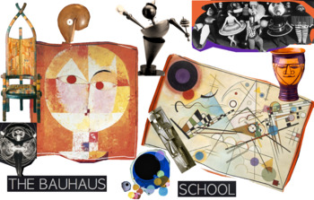 Bauhaus School in Germany and in Art History - FREE POSTER
