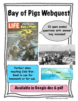 Bay of Pigs Webquest