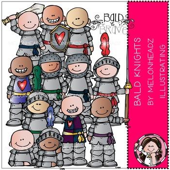 Melonheadz: Baylee's Bald Knights clip art - COMBO PACK