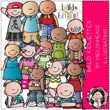 Baylee's Bald Kidlettes clip art- by Melonheadz