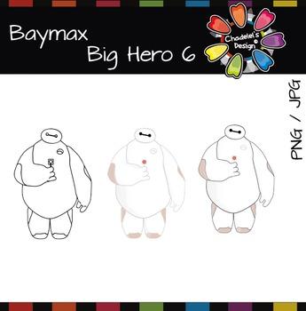 Baymax & Stickers [Big Hero 6] FREEBIE
