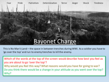 Bayonet Charge - Power and Conflict