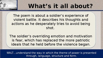 Bayonet Charge War Poetry