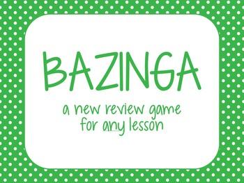 Bazinga - Review Game