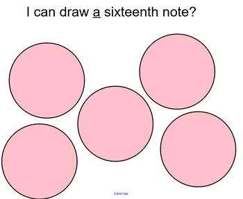 Bazooka Bubble Gum Sixteenth Note Rhythm Patterns