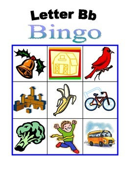 Bb Bingo set