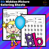 Bb Hidden Picture Coloring Sheets