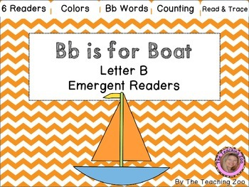 Bb Letter of the Week Emergent Readers - B b