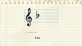 Bb Major Scale - PowerPoint Lesson
