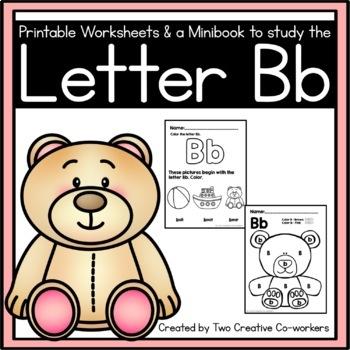 Letter B { Alphabet Practice }