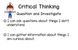 Bc Redesigned Curriculum Core Competency Posters - Critical Thinking