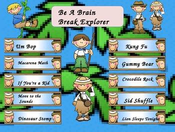 Be A Brain Break Explorer