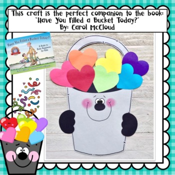 Be A Bucket Filler Craft and Writing Activities