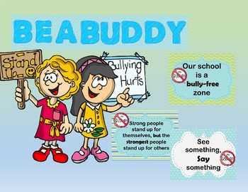 Be A Buddy Board- Anti Bullying***