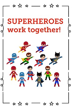 Be A Classroom Superhero Posters