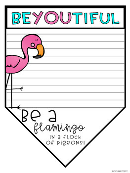 Be A Flamingo: Writing Prompt