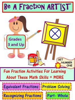 Fraction Activities: Roll it and Design it! Set One