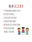 Be A Friend Sign