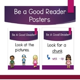 Be A Good Reader Posters
