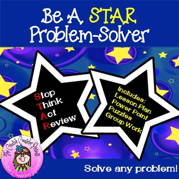 Be A Hollywood STAR Problem Solver Guidance Lesson