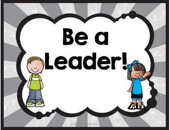 Be A Leader Behavior Clip Chart
