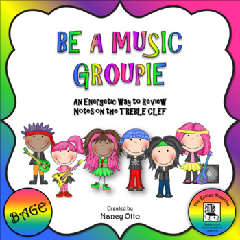 Be A Music Groupie - Notes BAGE