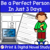 Be A Perfect Person in Just Three Days Book Study