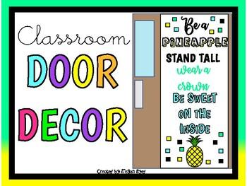Be A Pineapple (Door Decor/Bulletin Board Kit)