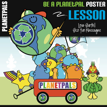PLANETPALS™ Be A Planetpal POSTER