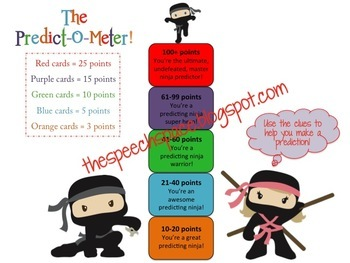 Be A Predicting Ninja: A Fun Game for Practice Making Predictions