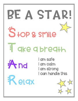 Be A STAR Poster
