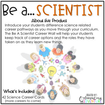 BE A SCIENTIST - A Career Word Wall