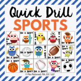 Quick Drill Sports {for speech therapy or any skill drill}