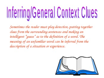 Be A Word Detective: Using context clues in texts