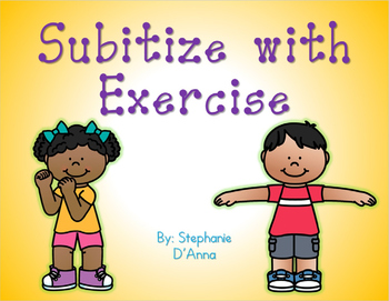 #halfoffhalftime Subitize with Exercise