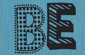 Be...Amazing Bulletin Board/Door Decor set (solid textures)