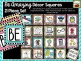 Be Amazing Decor Squares