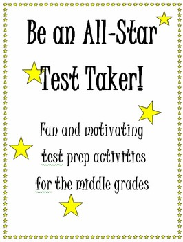 Be An All Star Test Taker!