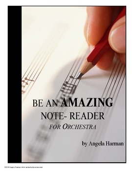 Be An Amazing Note Reader for Orchestra - A Workbook for B