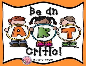 Be An Art Critic Opinion Writing