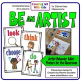 Artist Behavior Mini-Posters Be An Artist