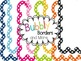 Be Bold Set~ Chevron & Polka Dots Backgrounds with Frames