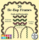 Be-Bop Frames Rectangles and Ovals Multicolor