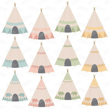 Be Brave Tribal Clipart & Vectors in Grandmas Garden - Tribal Clip Art