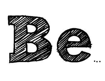 Be Bulletin Board Idea (Inspirational)
